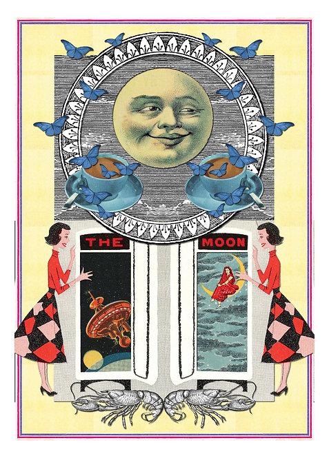 18/THE MOON, 2014_ Emma Anna Chatter