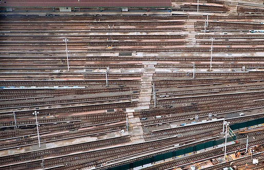 Train Tracks_Archival Pigment Print on Heavyweight Cotton Rag Paper_2015_Jill Peters