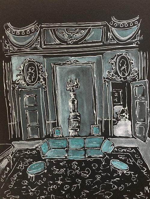 Tiffany Blue Room, 2021