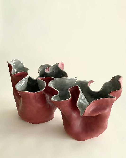 Visceral Red Gray I and II, 2010