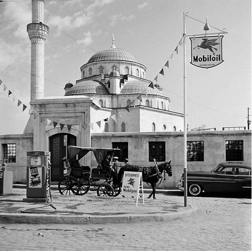 Istanbul - Untitled #5, 1954 (B&W)