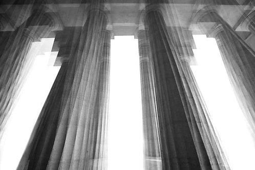 Palladio Temple, 2016 (B&W)