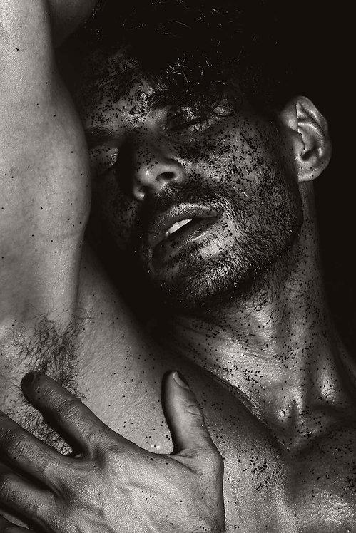 Men with Black Sand, 2017 - 2018 (Sepia)