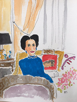 The Duchess of Windsor at Home, 2020