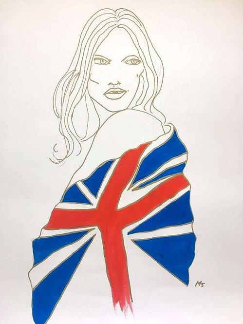 Union Jack Kate Moss, 2017