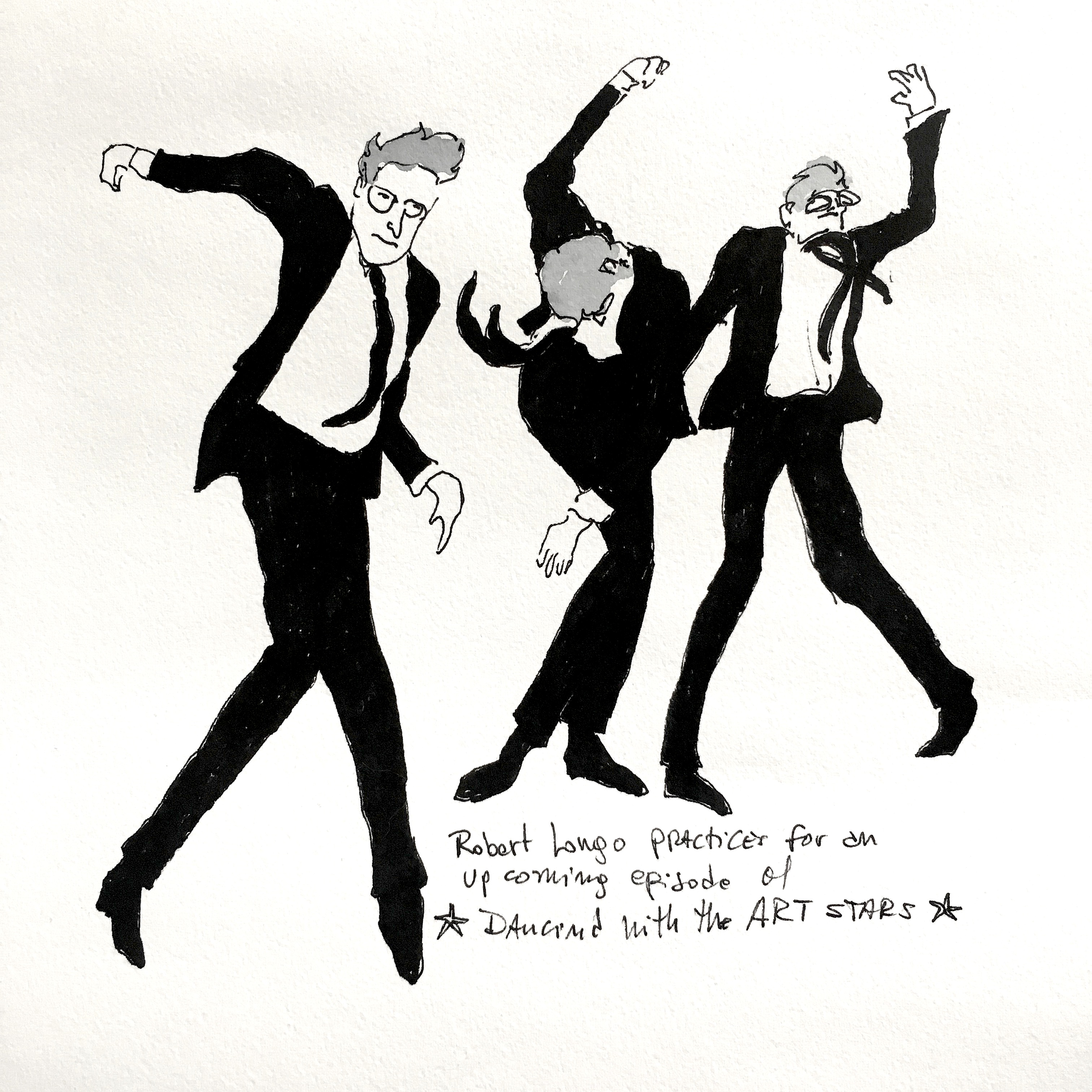 Robert Longo Dances