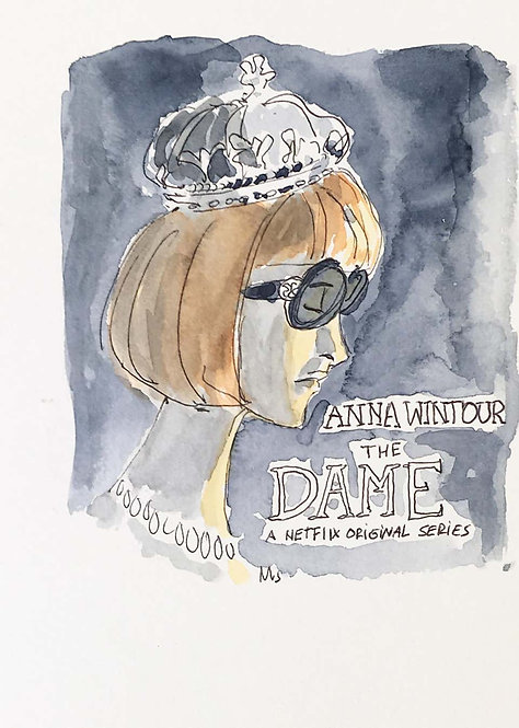 Anna Wintour, The Dame, 2018