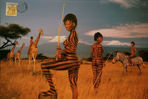 Kenya, From the Mani- Cartes Postales series, 1993