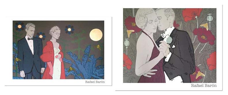 Amapola, and Humo en los ojos, Painting Set 2020