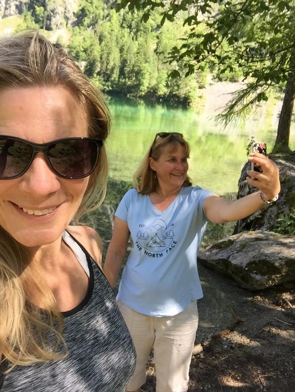 Double Selfie with irene_sieber @Instagram