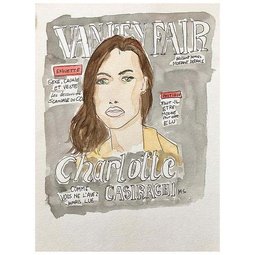 Charlotte Casiraghi in Vanity Fair, 2016