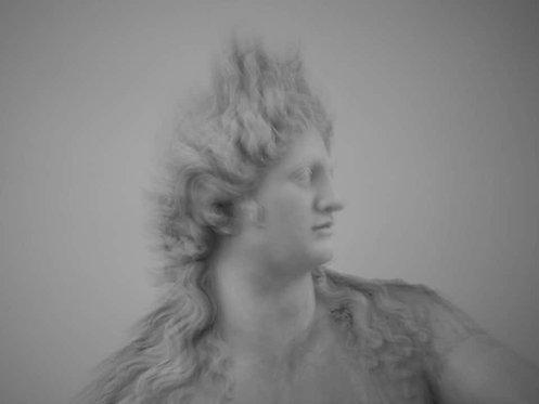 Roman Statue Study 6_Black and White Figurative Photograph_2014_Luca Artioli