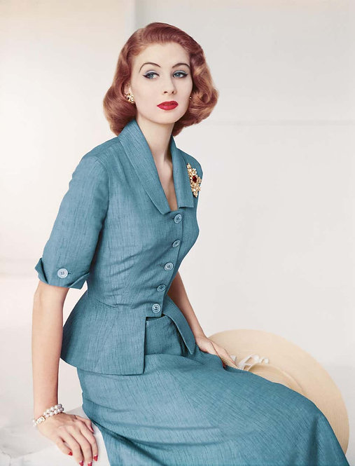 Fashion in Colour - Suit by Brigance for Frank Gallant, 1951 (Small size)