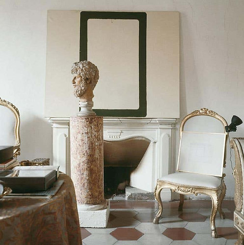 Cy Twombly in Rome 1966 - Untitled #12, 1966 (Large Canvas)