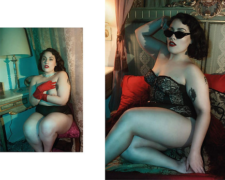 About Informal Photography, and Mood, Diptych, 2018
