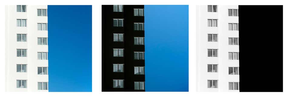 Miami Abstractions 2_Triptych_Abstract Architectural Photographs_2016_Luca Artioli