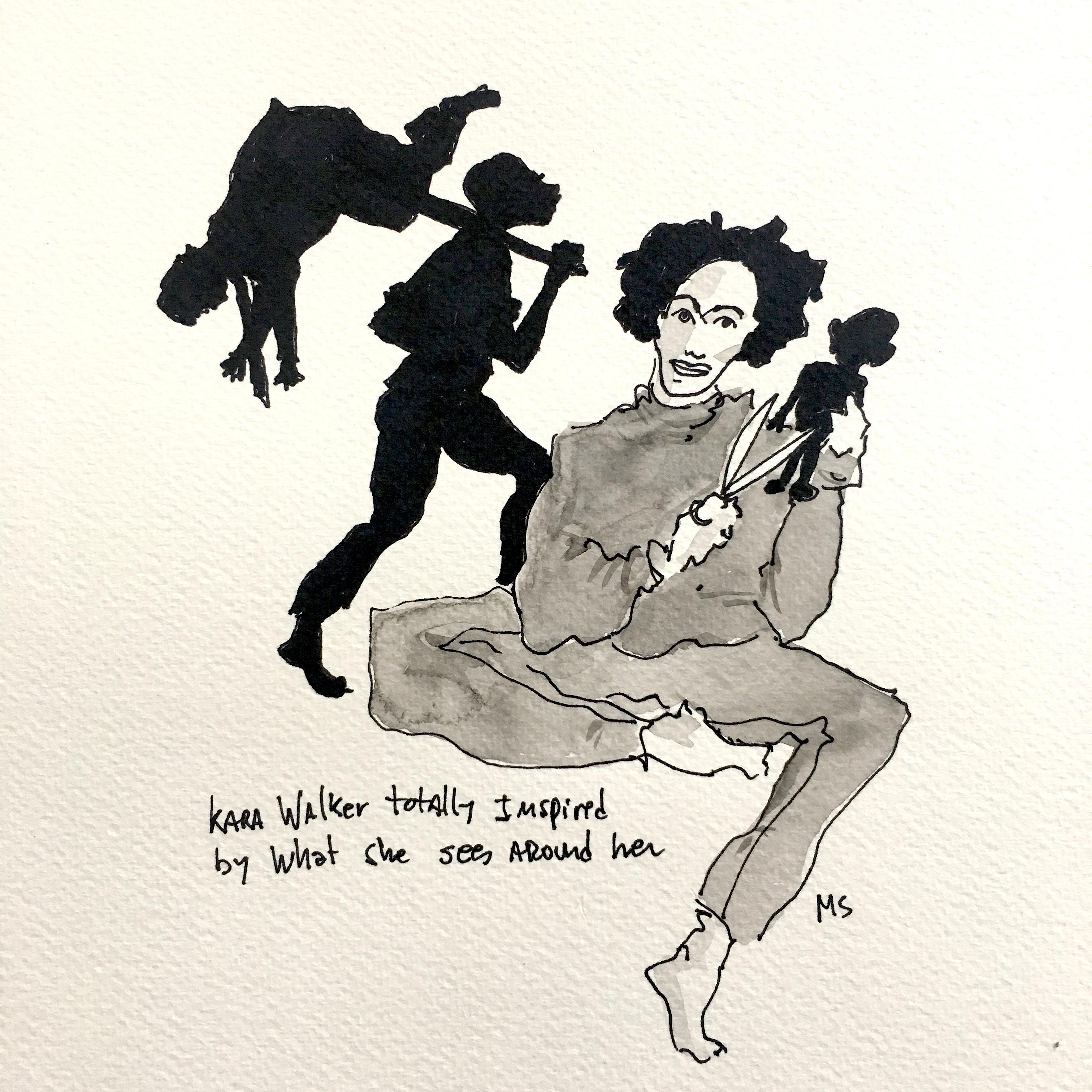 Kara Walker, Totally Inspired