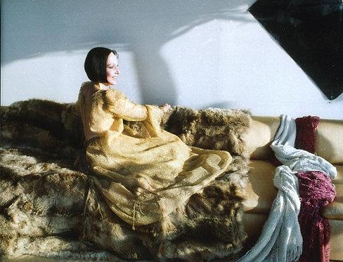 Mary McFadden at Home, New York, 1990s_ Rose Hartman