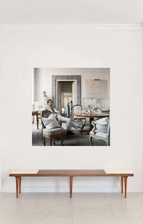 Cy Twombly in Rome 1966 - Untitled #4, 1966 (Extra Large Mounted on Aluminum))