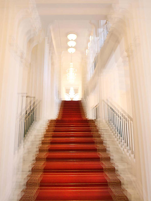 Albertina Palace Up Stairs, 2016