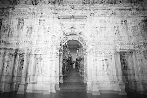 Teatro Olimpico - Vicenza, 2017 (B&W)