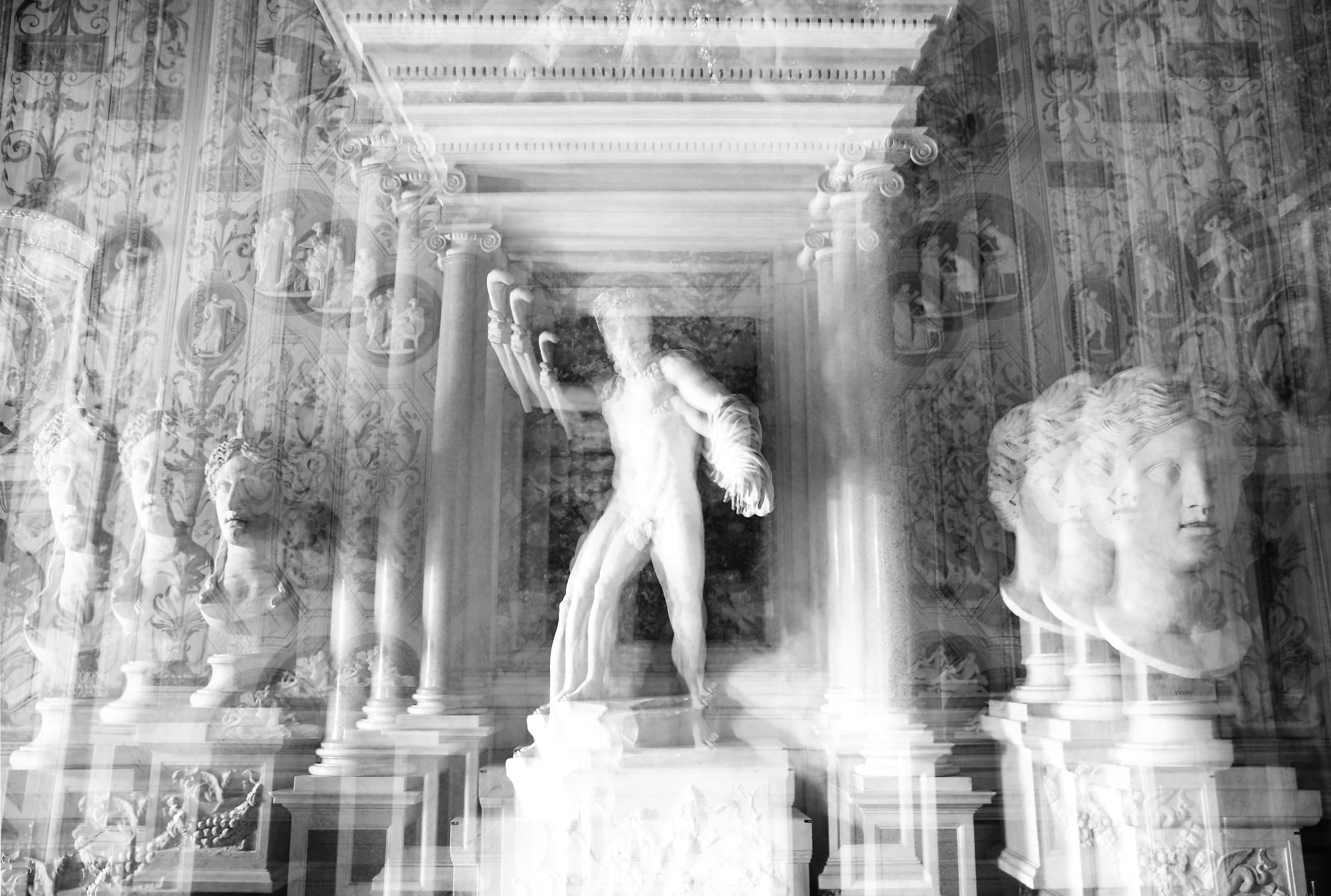 Villa Borghese BW- Rome