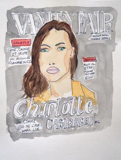 Charlotte Casiraghi in Vanity Fair