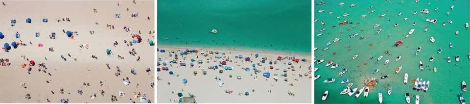 Beach II, Nude Beach and Sandbar, 2015
