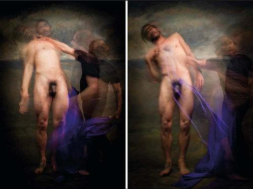 Untitled IV and V, Diptych, Half Angels Half Demons, 2010