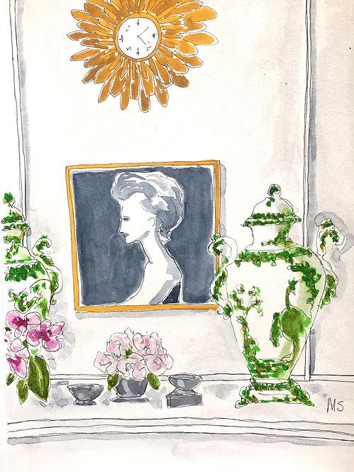 Justine Cushing apartment