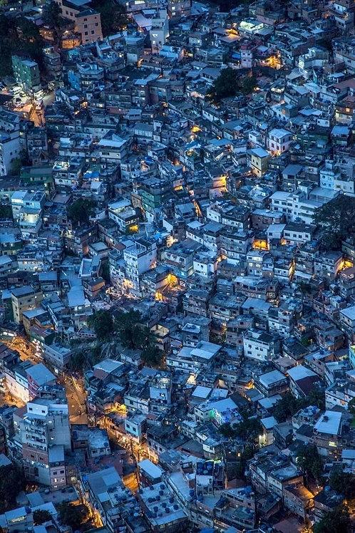 Oceano / Favelas – Rio De Janeiro, 2017