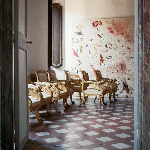 Cy Twombly in Rome - Untitled #19, 1966 (Canvas)