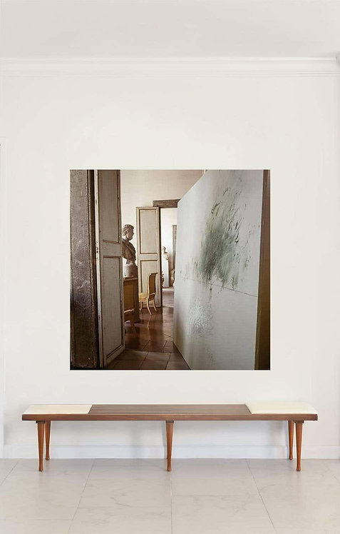Cy Twombly in Rome - 1966, Untitled #13, 1966 (Large Canvas)