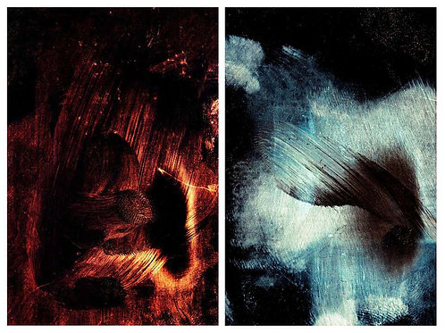 Untitled 15 and Untitled 3 (Diptych), 2014