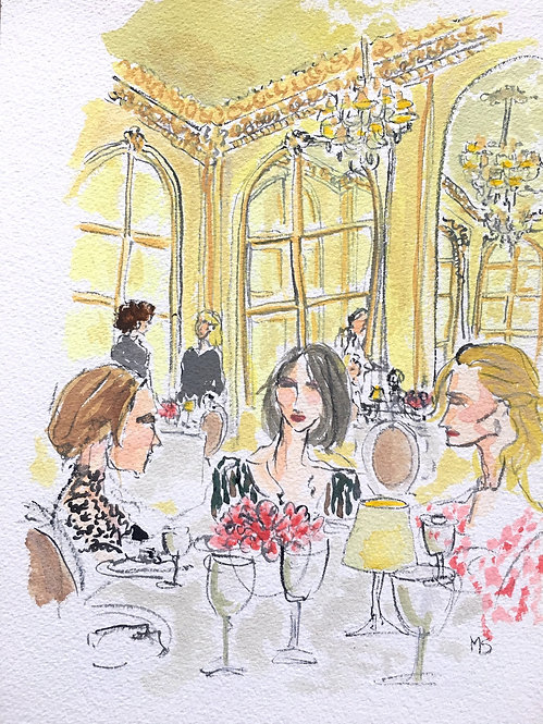 Lunch at the Ritz