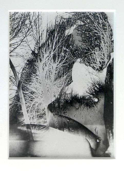 Untitled (Solarized Double Exposure), Framed 1945-1947