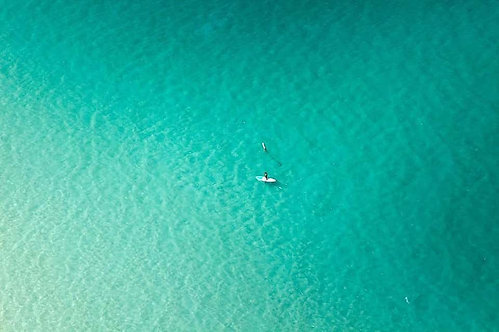 Lone Paddle Boarder, 2015