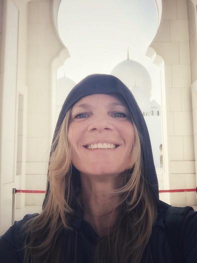 Sefie Grand Mosque Sheik Zhaid, Abu Dhabi