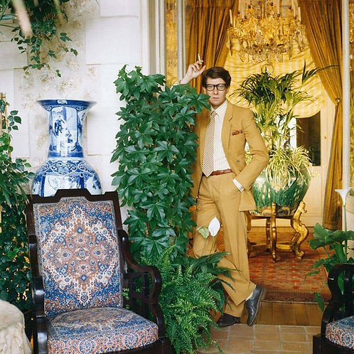 Yves Saint Laurent, Normandie, 1983 - Untitled #1 (Small size)