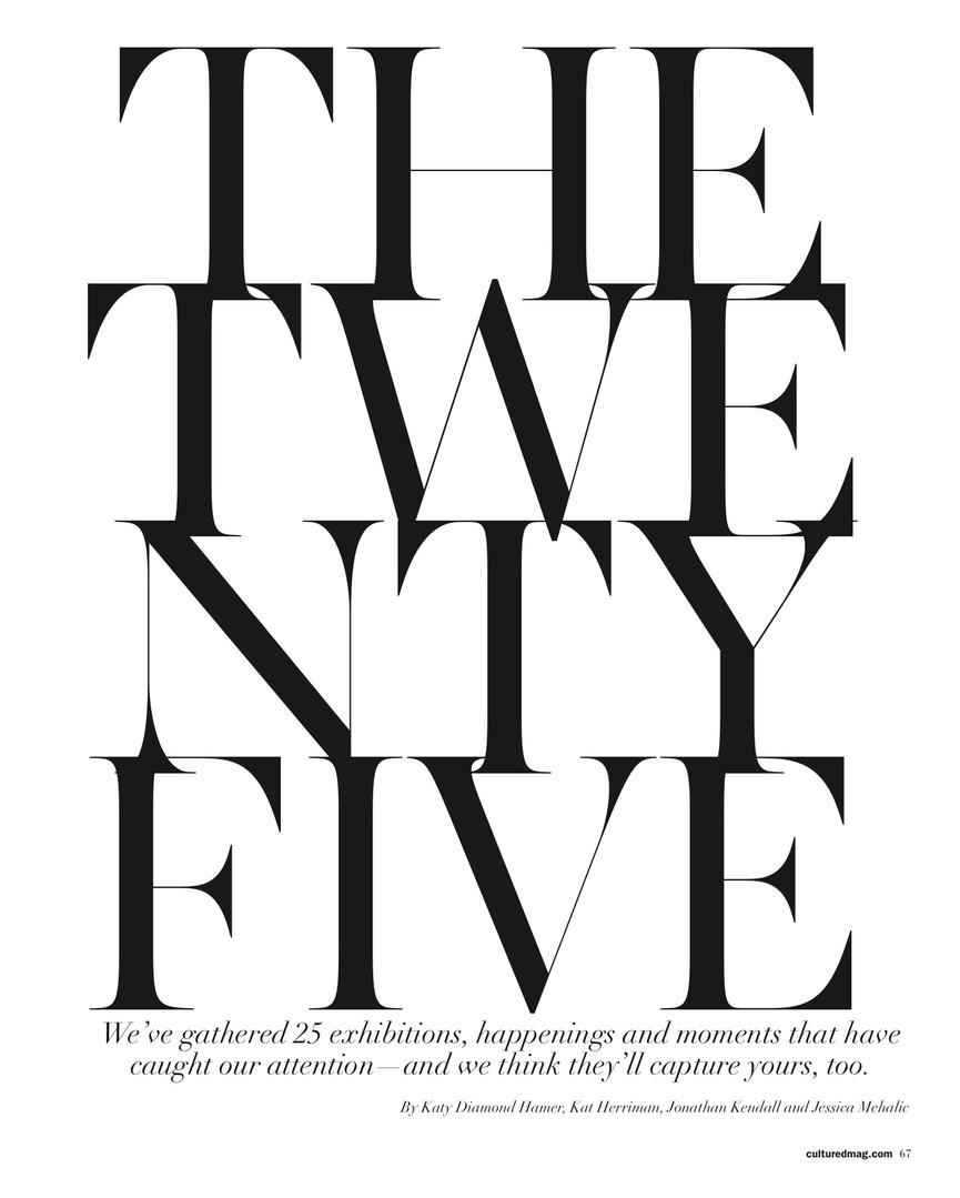 THE TWENTY FIVE