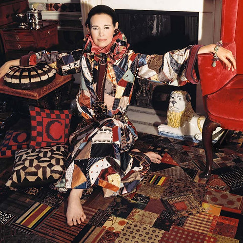 Around That Time - Gloria Vanderbilt, New York, 1970 (Small size)