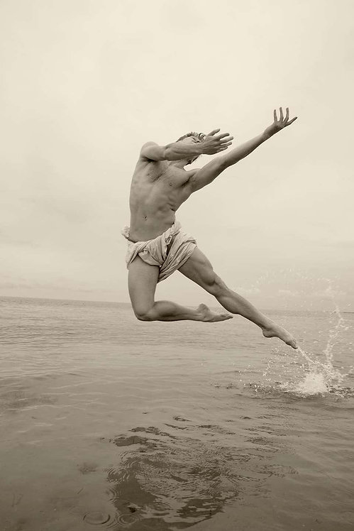 Man on Water, 2017 - 2018 (Sepia)