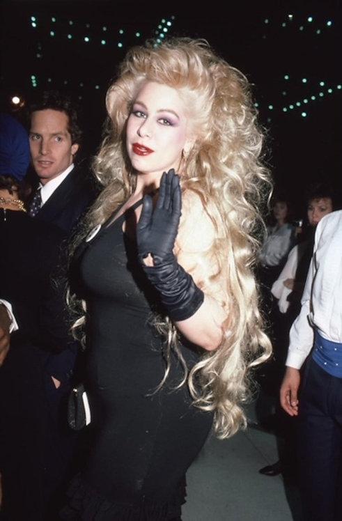 Dianne Brill, Mudd Club, 1980s_ Rose Hartman