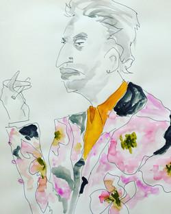 Serg Gainsbourg in Dries van Noten