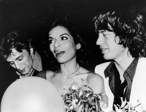 Baryshnikov, Mick & Bianca Jagger, Studio 54, 1977_ Rose Hartman
