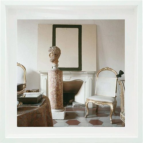 Cy Twombly in Rome 1966 - Untitled #12 (Small size: Framed), 1966
