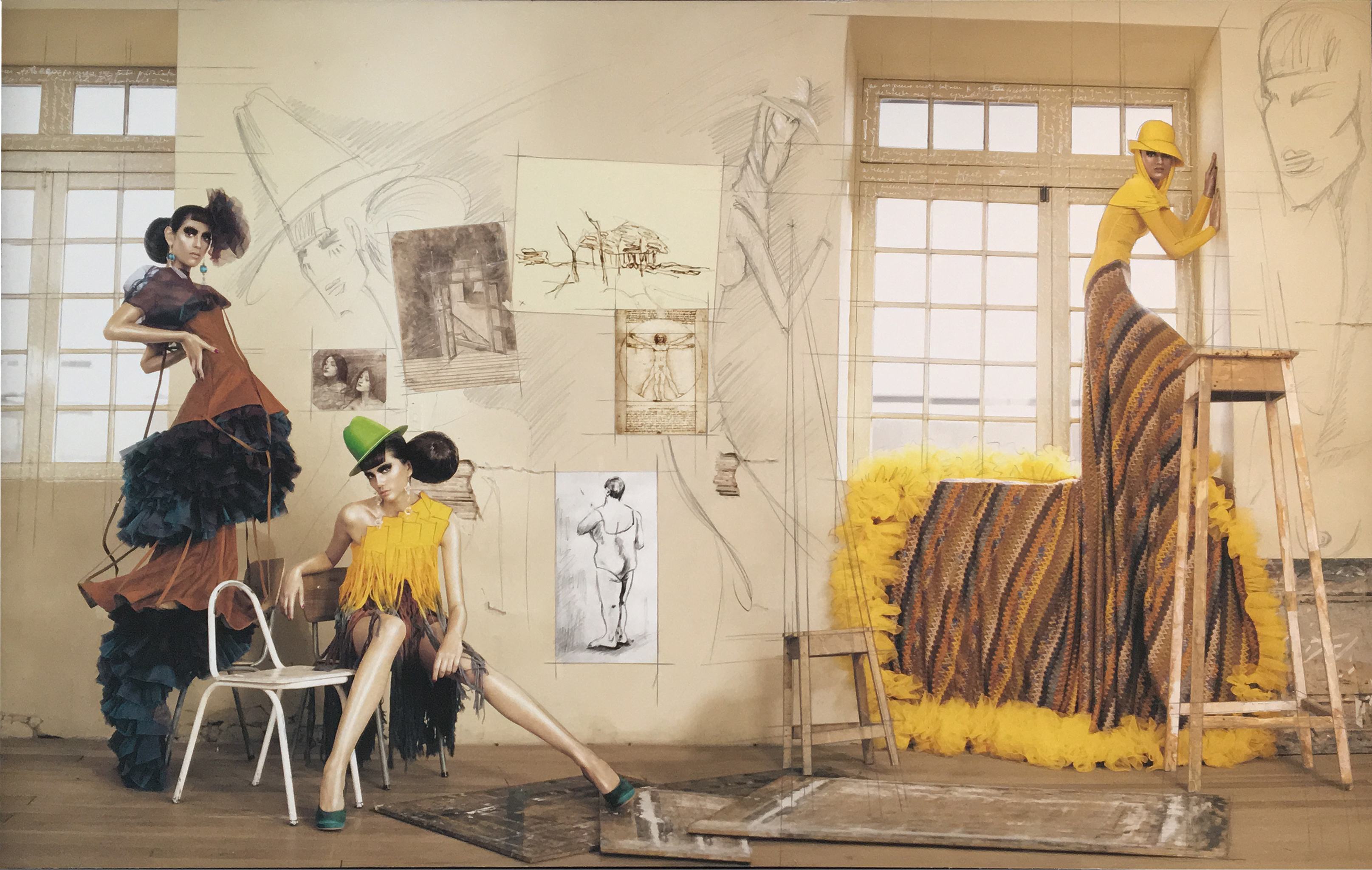 Haute Color Yellow Dress, 2009