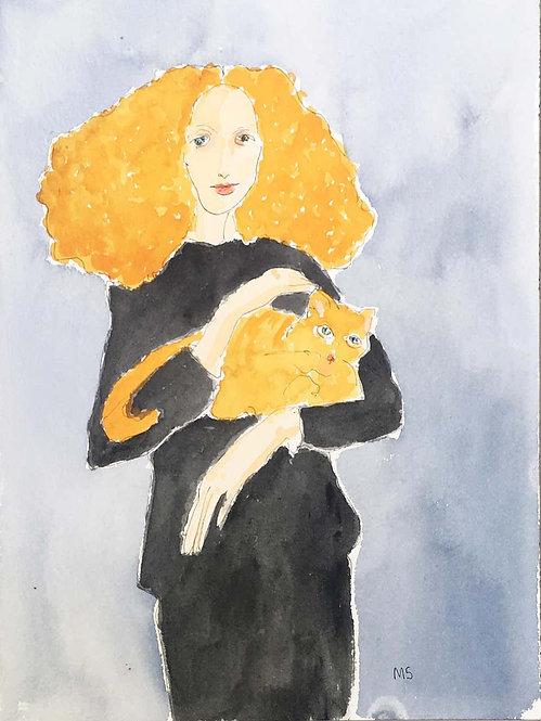 Grace Coddington Portrait, 2018
