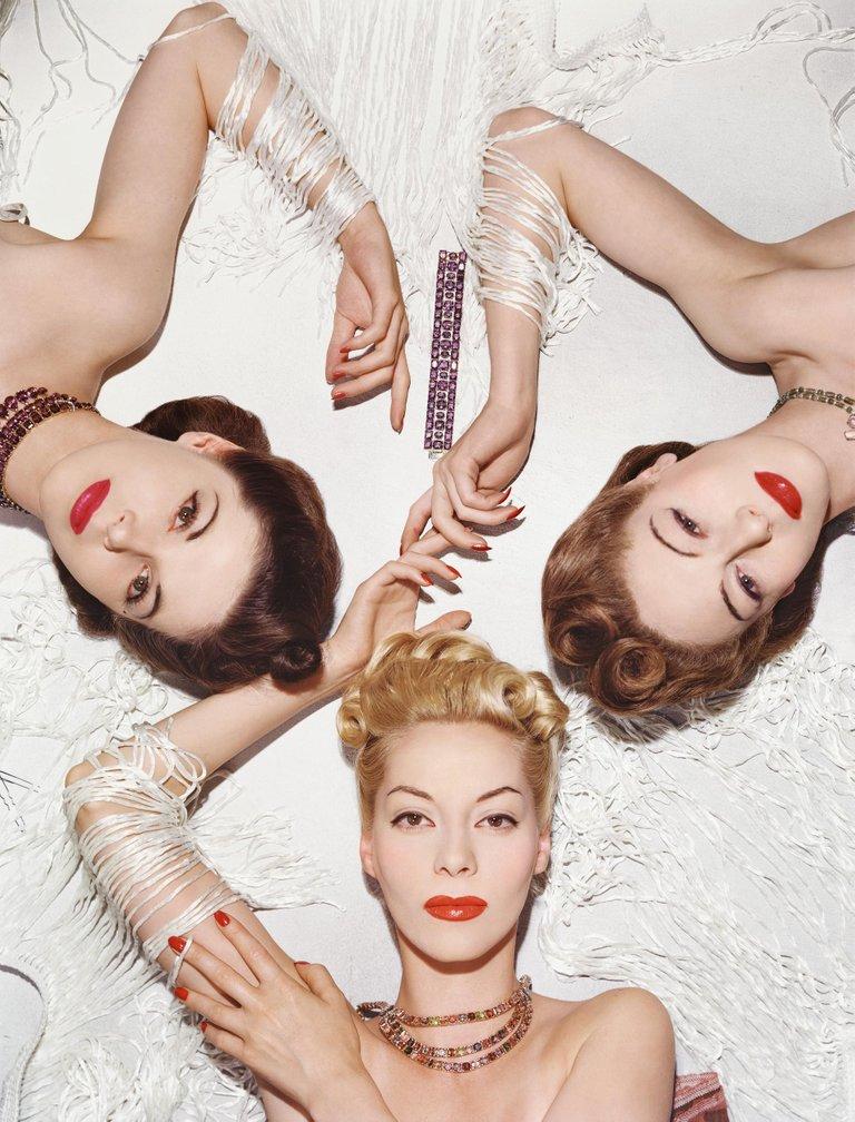 Helen, Muriel, and Bettina
