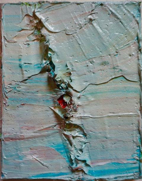 Tactile memory #112 One of a kind, Mixed media on canvas 2020_Natasha Zupan